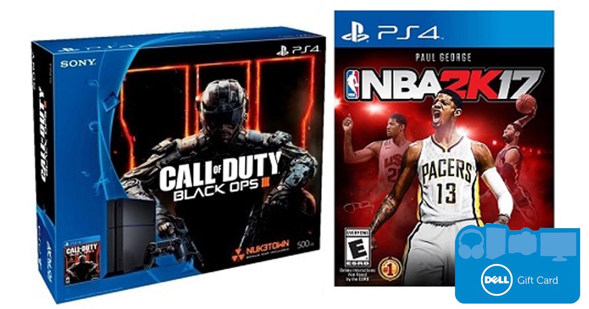 Playstation 4 Call Of Duty Black Ops Iii Bundle Nba 2k17 75