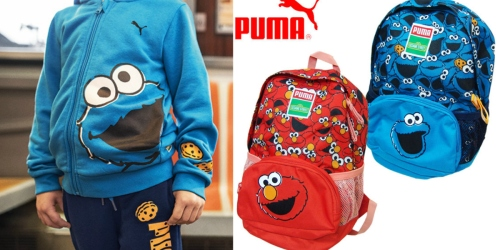 PUMA.com: Extra 25-40% Off Sitewide AND Free Shipping = Nice Deals on Sesame Street Items + More