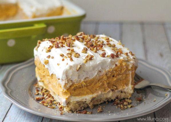 Pumpkin Delights Dessert