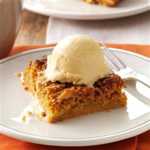 Great Pumpkin Dessert