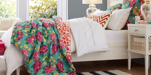 Pottery Barn: Extra 25% Off Clearance Bedding + Free Shipping = Whitley Quilt Only $44.99 Shipped