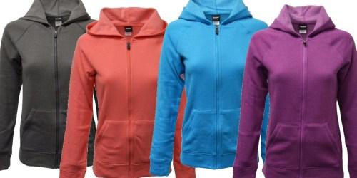 Reebok Women's Hooded Full Zip Fleece Just $18.99 Shipped (Regularly $45)