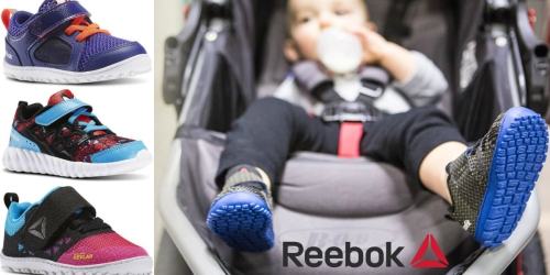 Reebok.com: Extra 40% Off Select Styles + 2 Pairs of Toddler Shoes Just $40 (Regularly $46.99 Each)