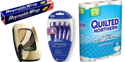 New RedPlum Coupons (Save On Reynolds, L'Oreal, Quilted Northern & More)