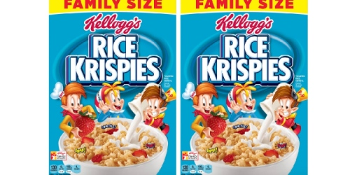 Walmart: Free Rice Krispies Family Size Cereal After Cash Back (New & Existing TopCashBack Members)