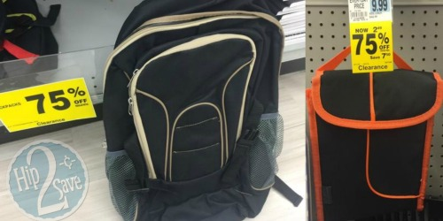 Rite Aid: Up to 75% Off Backpacks, Lunch Bags & More