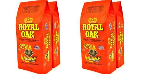 Walmart: TWO Royal Oak Charcoal Briquets 12 Pound Bags as Low as $5