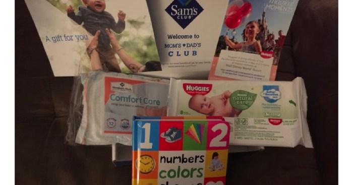 Sam's Club Members: Join Free Mom & Dad's Club & Score Free Wipes, Kid's Books & More!