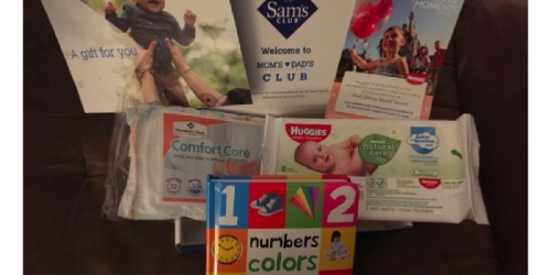 Sam's Club Members: Join Free Mom & Dad's Club & Score Free Wipes, Kid's Books & More!