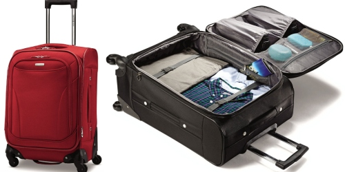 """Samsonite September Sale = Bartlett 20"""" Spinner Luggage Only $59.99 (Regularly $200) + More"""
