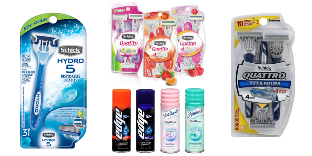 Rite Aid Schick Products