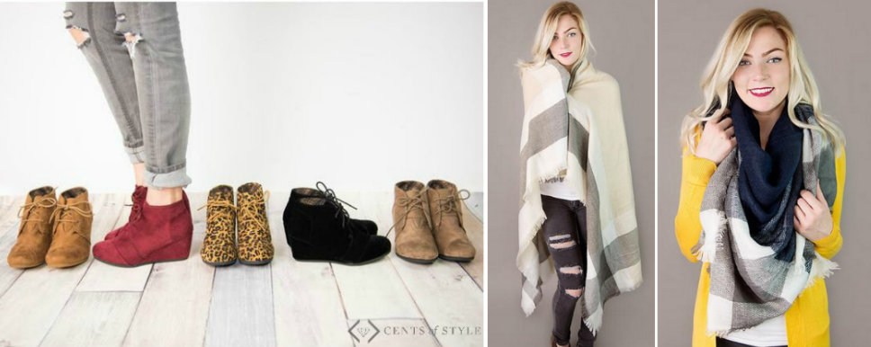 Boot & Scarf Deal