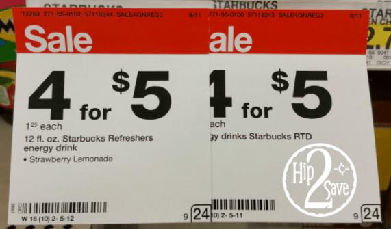 Starbucks Refreshers Target