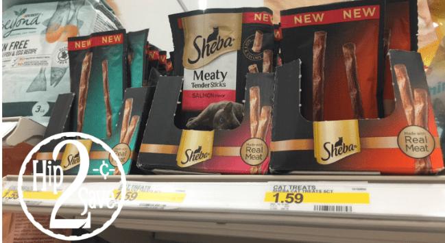 Sheba Meaty Tender Sticks Target