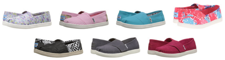 9533e064c88 6PM.com  Extra 10% Off   TOMS Kid s Classic Shoes As Low As  17.10 ...