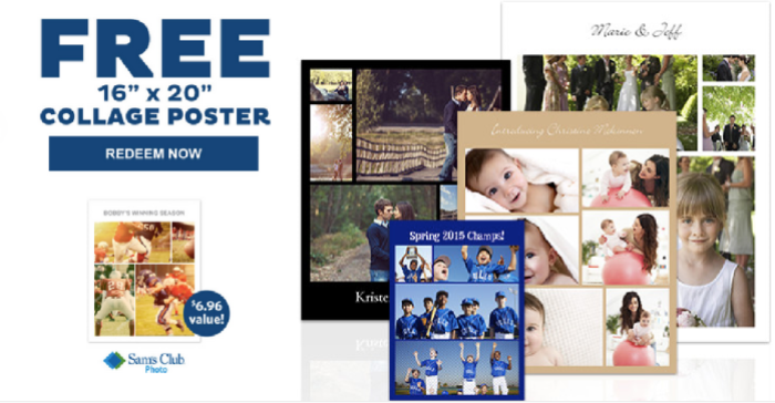 Sam's Club Collage Poster
