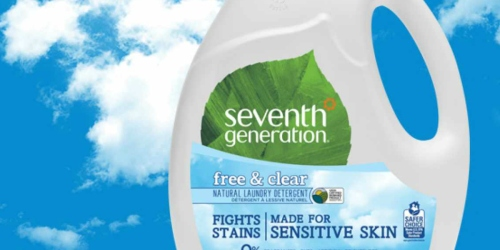 Possible FREE Seventh Generation Free & Clear Laundry Detergent (Check Your Account)