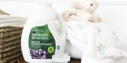 Target.com: Score Nice Deals On Seventh Generation Laundry Detergent and Dish Soap