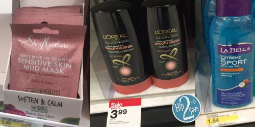 Target: Over $20 Worth of Beauty Products Only $2.63 (L'Oreal, SheaMoisture & More!)