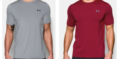 Under Armour: Extra 25% Off Outlet Items = Men's Short Sleeve Shirts Only $11.24 Shipped (Reg. $29.99)