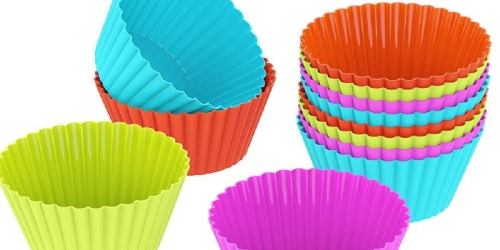 Amazon: Silicone Baking Cups 12 Pack ONLY $3.99