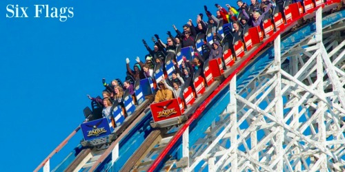 Six Flags Back to School Sale: Over 70% Off 2017 Season Passes, Free Parking & More