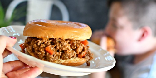 10-Minute Kid Approved Sloppy Joes