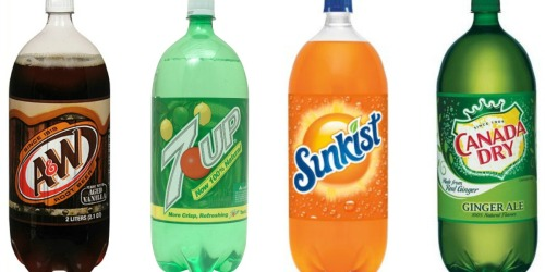 Walgreens: 7 Up, A&W, Sunkist, Canada Dry 2-Liters Only 50¢