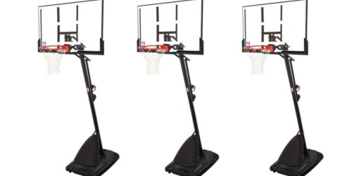 Walmart: Spalding NBA Angled Pole Basketball System Only $197 (Regularly $389)