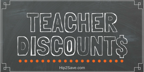 TEACHERS: Looking for Discounts? We've Got You Covered!