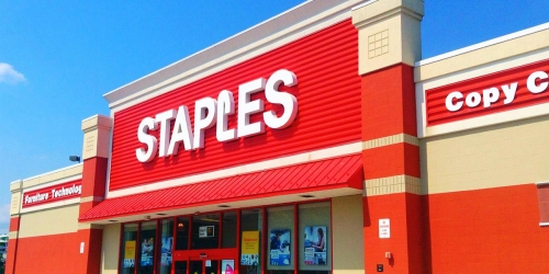 Staples Rewards Members: Possible $5 Off $5 Purchase Coupon (Check Your Inbox)