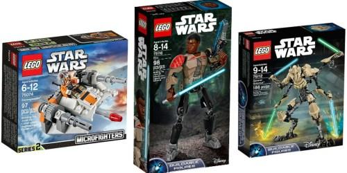Target.com: Star Wars LEGO Sets Up To 20% Off
