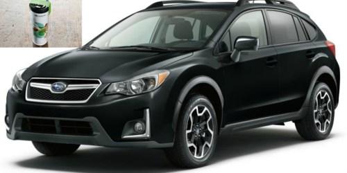Test Drive NEW Subaru = FREE Starbucks Tumbler Preloaded with $20 Starbucks Credit