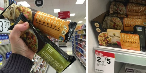 Target: Better Than FREE Sweet Earth Breakfast Burrito (After Cash Back Rebates)