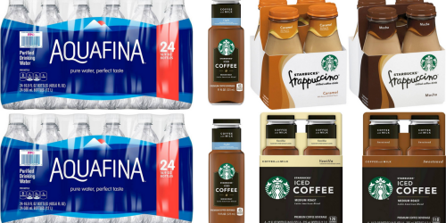 Target: BIG Savings on Aquafina Water & Starbucks Drinks (Starting 9/11)