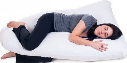 Target.com: Full Body Contour U Pillow Just $28.35 Shipped (Reg. $41.99) – Great for Pregnancy