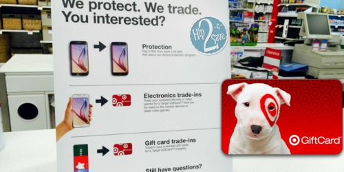 Target Shoppers: Trade Unwanted Gift Cards for Target Gift Cards Instantly (In-Store Only)