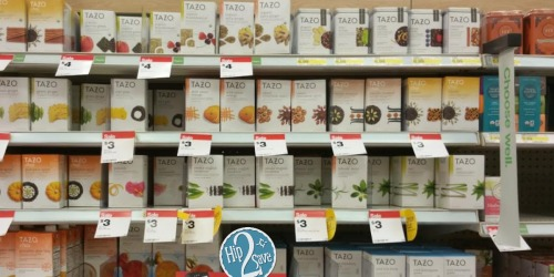 Target: Tazo Tea Bags 20-Count Boxes ONLY $1 Each (After Starbucks eGift Card)