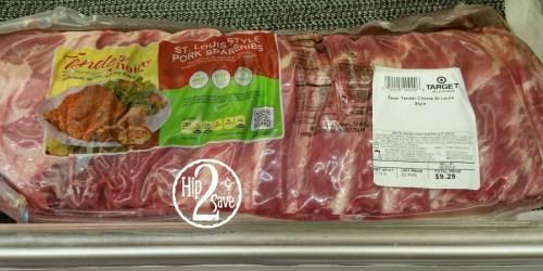 Target Shoppers! Rare 40% Off Tender Choice Pork Ribs Cartwheel Offer