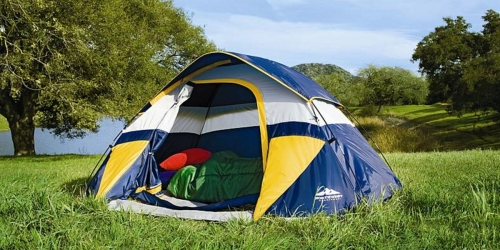 Sears: Northwest Territory Sierra Dome Tent Only $24.74 (Regularly $49.99)