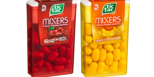 Tic Tac Cash Back Offers from Ibotta & Checkout 51 = Mints or Mixers Only 14¢at Walmart