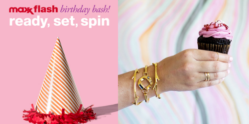 TJMaxx Birthday Spin To Win Game & Sweepstakes: Enter to Win Gift Cards & More (1,417 Winners)