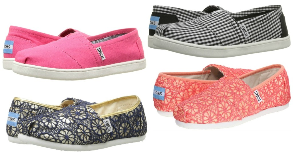 dd372b8bcec 6pm Com Extra 10 Off Toms Kid S Classic Shoes As Low 17