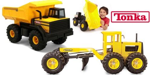 Kohl's: Extra 20% Off Already Reduced Items = Great Deals on Tonka Steel Dump Truck & Grader