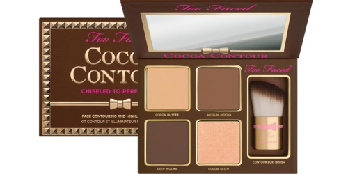 Too Faced Palette & Buki Brush $20 Shipped w/ VISA Checkout (Reg. $40) – New HSN Customers Only