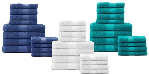 Kohl's.com: Big Savings On The Big One 12 Piece Bath Towel Value Packs + Earn Kohl's Cash