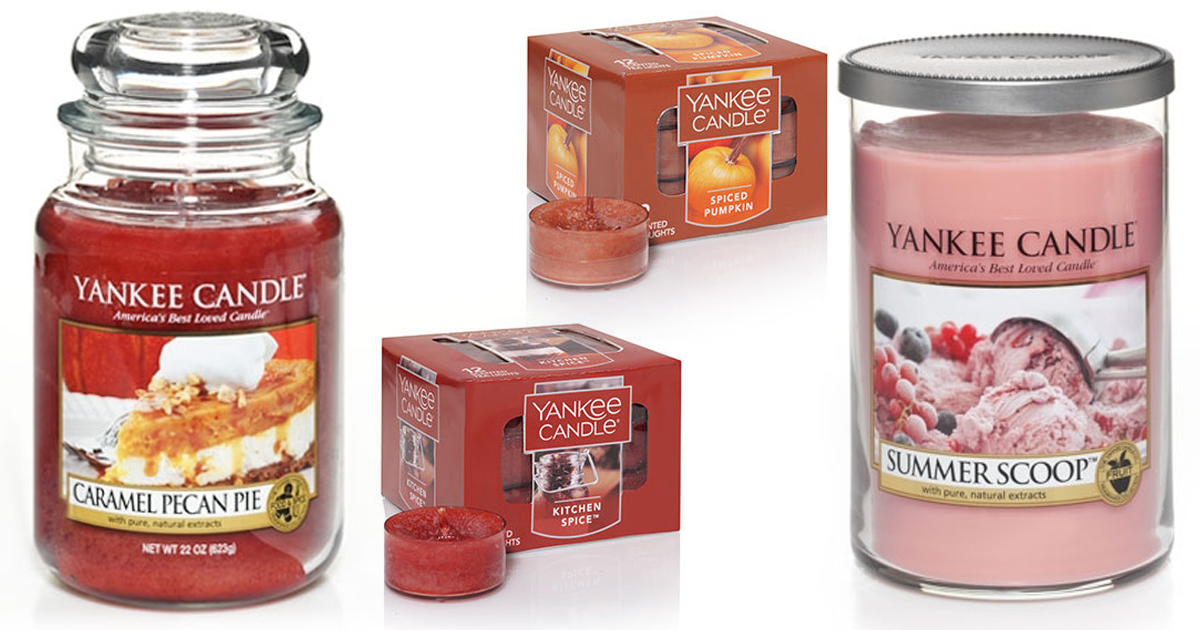 Yankee Candle: Free Shipping w/ $35 Purchase = Over $106 ...