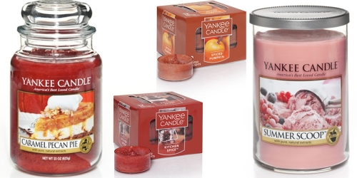 Yankee Candle: Free Shipping w/ $35 Purchase = Over $106 Worth Of Items $40 Shipped