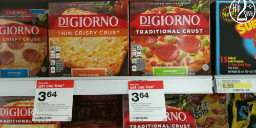 Target: Save BIG On DiGiorno Single Serve and MultiServe Pizzas