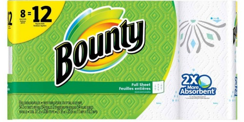 Target.com: Bounty Paper Towels ONLY 69¢ Shipped Per GIANT Roll (After Gift Card)